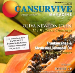 CANSURVIVE Magazine Vol 63 - cover