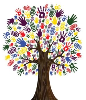 Many Hands Tree 2